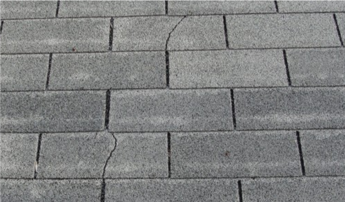 Cracked Shingles Replacement