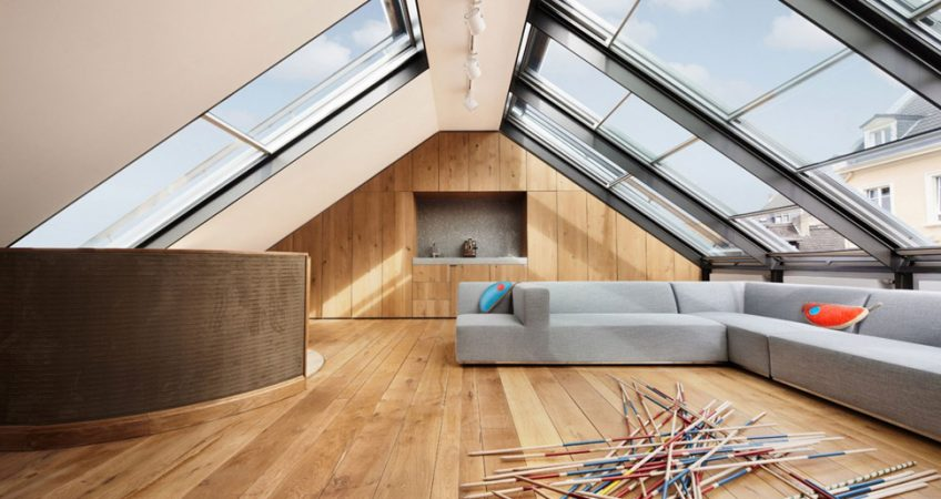 Install skylights for home
