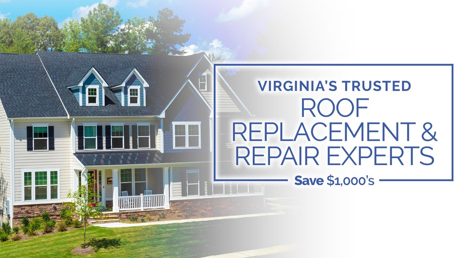 Roof Replacement & Repair Experts in Virginia